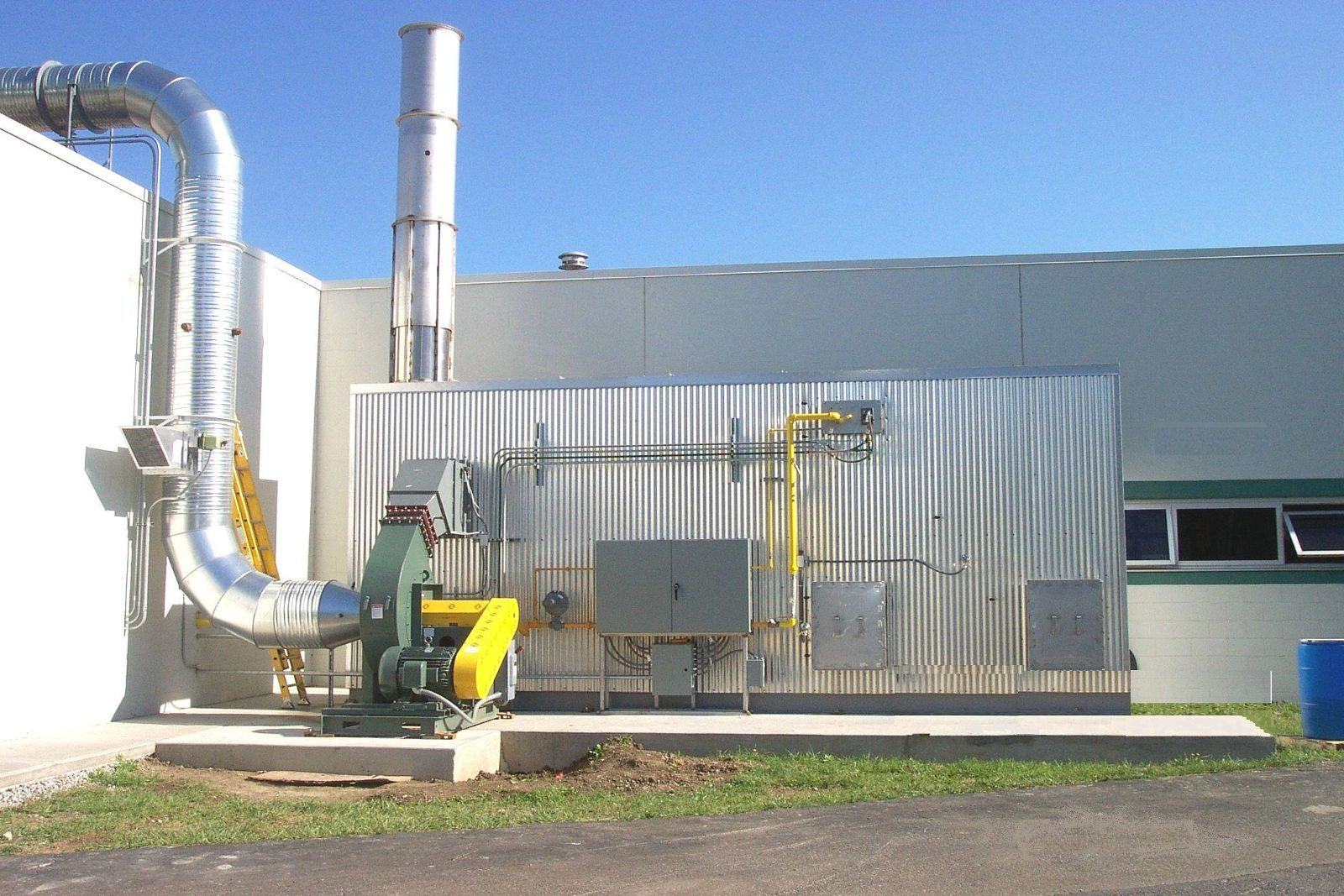 Biomass Generation Facility Replaces Flare