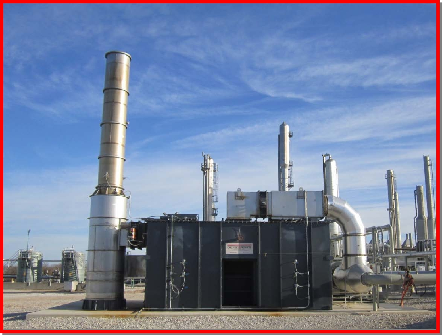 TRITON Series Regenerative Thermal Oxidizer