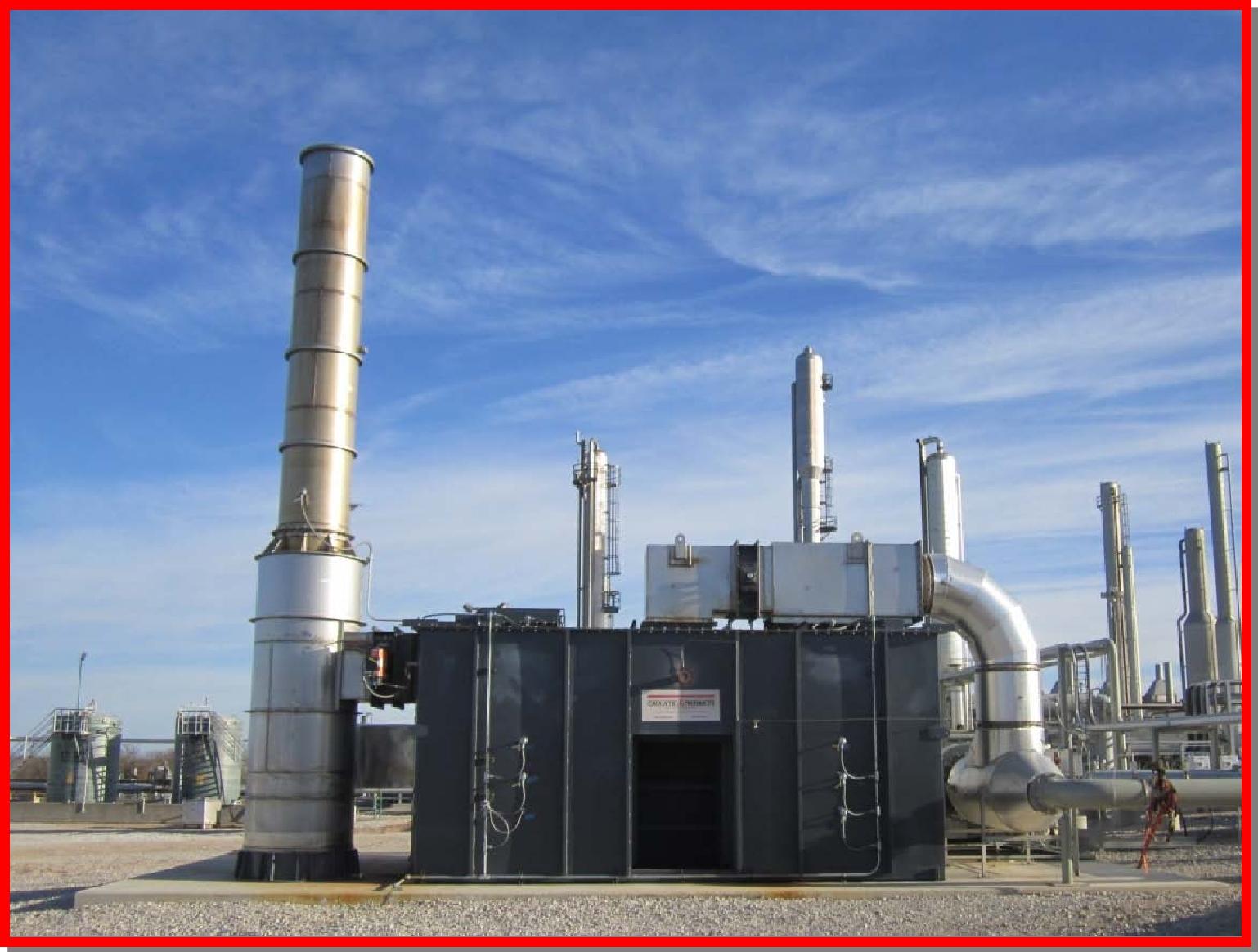 TRITON Series Regenerative Thermal Oxidizer
