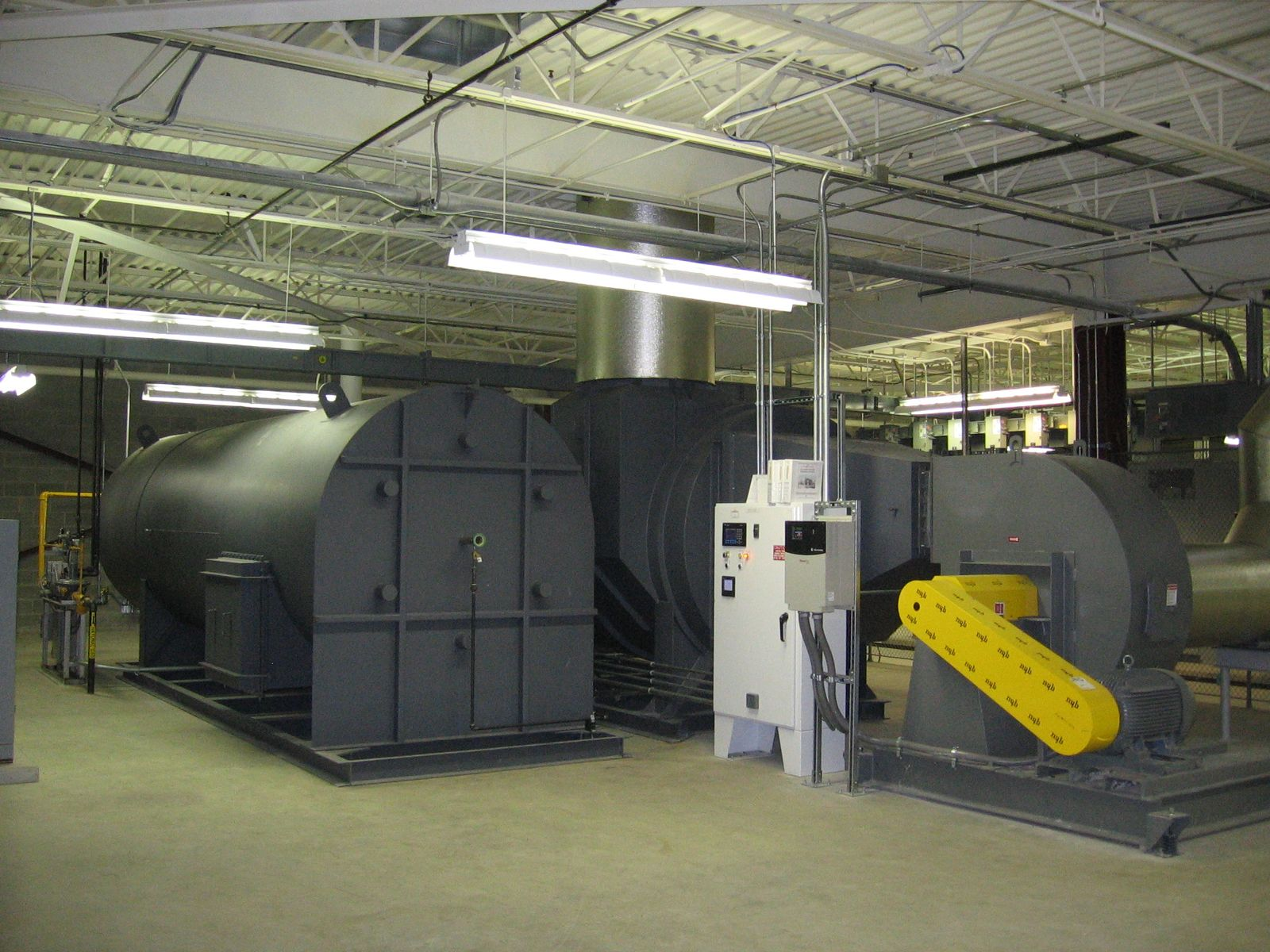 CPI Installs Thermal Oxidizer for VOC Control of Engine Dynamometer Test Cells