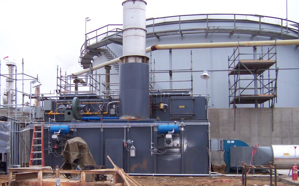 Petro-Chemical Processor meets National Emission Standardsfor Hazardous Air Pollutants