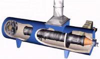 Thermal Oxidizer cut away