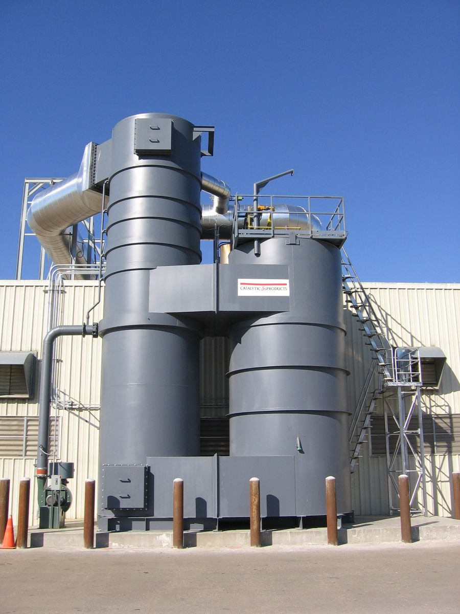 Can Coater Chooses the Quadrant SR Thermal Oxidizer for VOC Control