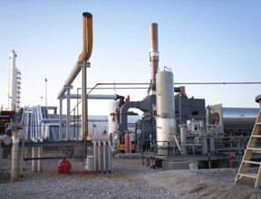 QUADRANT SR-6,000 Thermal Oxidizer