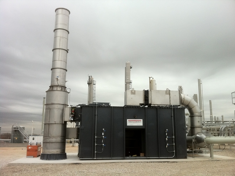 Regenererative Thermal Oxidizer - TRITON for Natural Gas Industry
