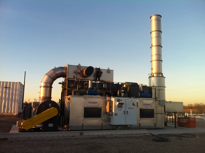 Regenerative Thermal Oxidizers-Natural Gas Industry