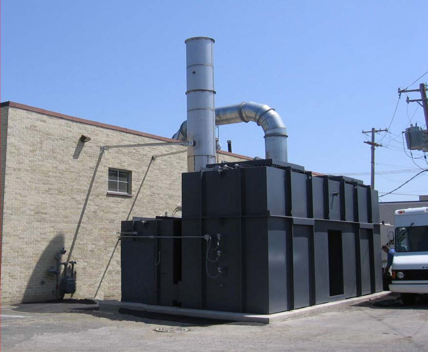 Regenerative Thermal Oxidizer, TRITON Series, Flexographic Printer Project