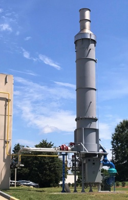 CPI Thermal Combustor System (TCS) 3,600 SCFM Adhesive Manufacturing Emissions-1
