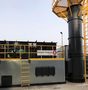 CPI 15,000 SCFM RTO Auto Parts Coating Operation