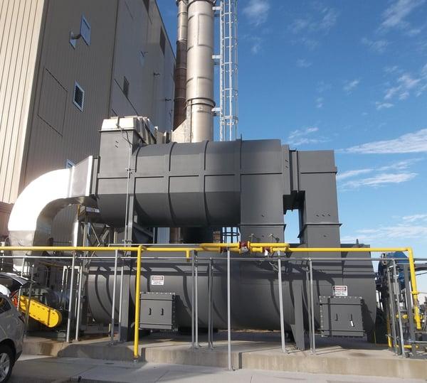 CPI Thermal Oxidizer for Odor Abatement