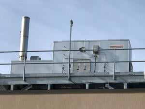 CPI Catalytic Oxidizer Pharmaceutical Roof Mount
