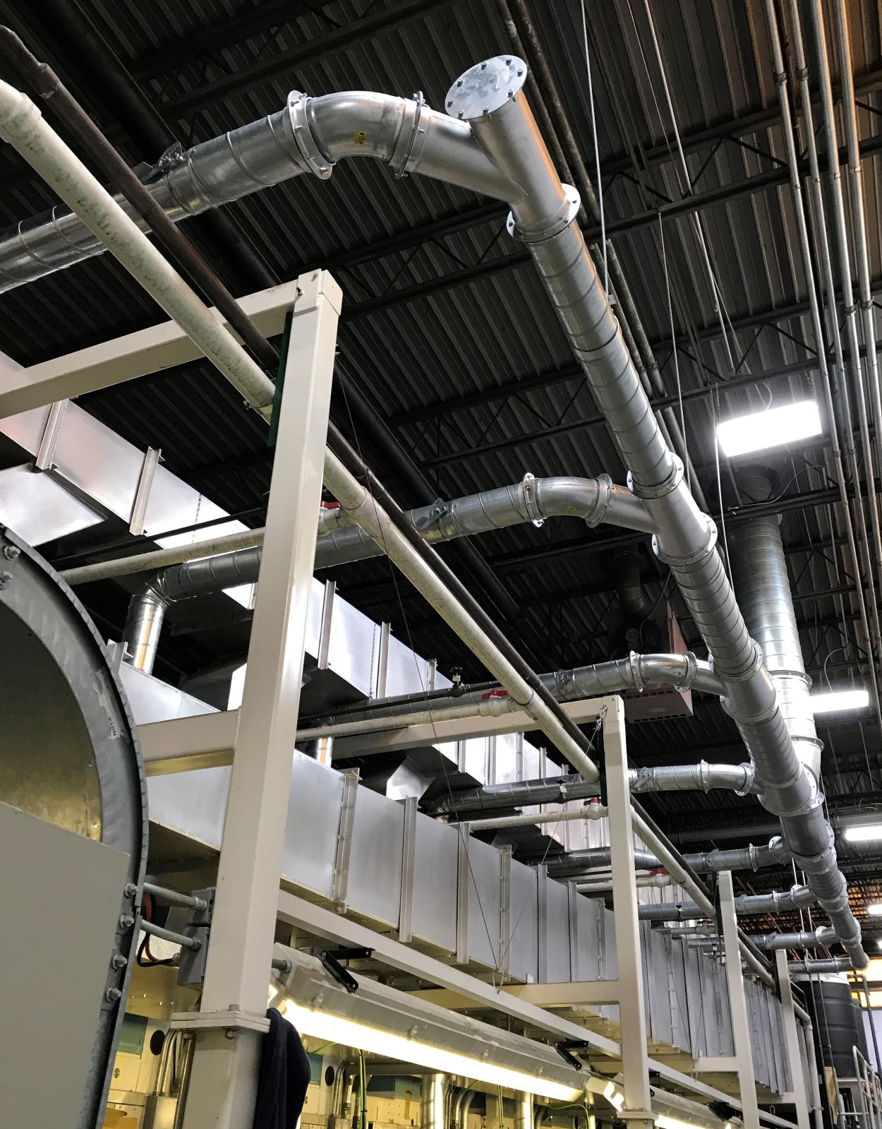 CPI Flexographic Printing RTO Ductwork edit