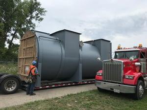 CPI Rebuilds Thermal Oxidizer at Coil Coater