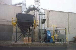 CPI Oxidizer & Baghouse 01-3717