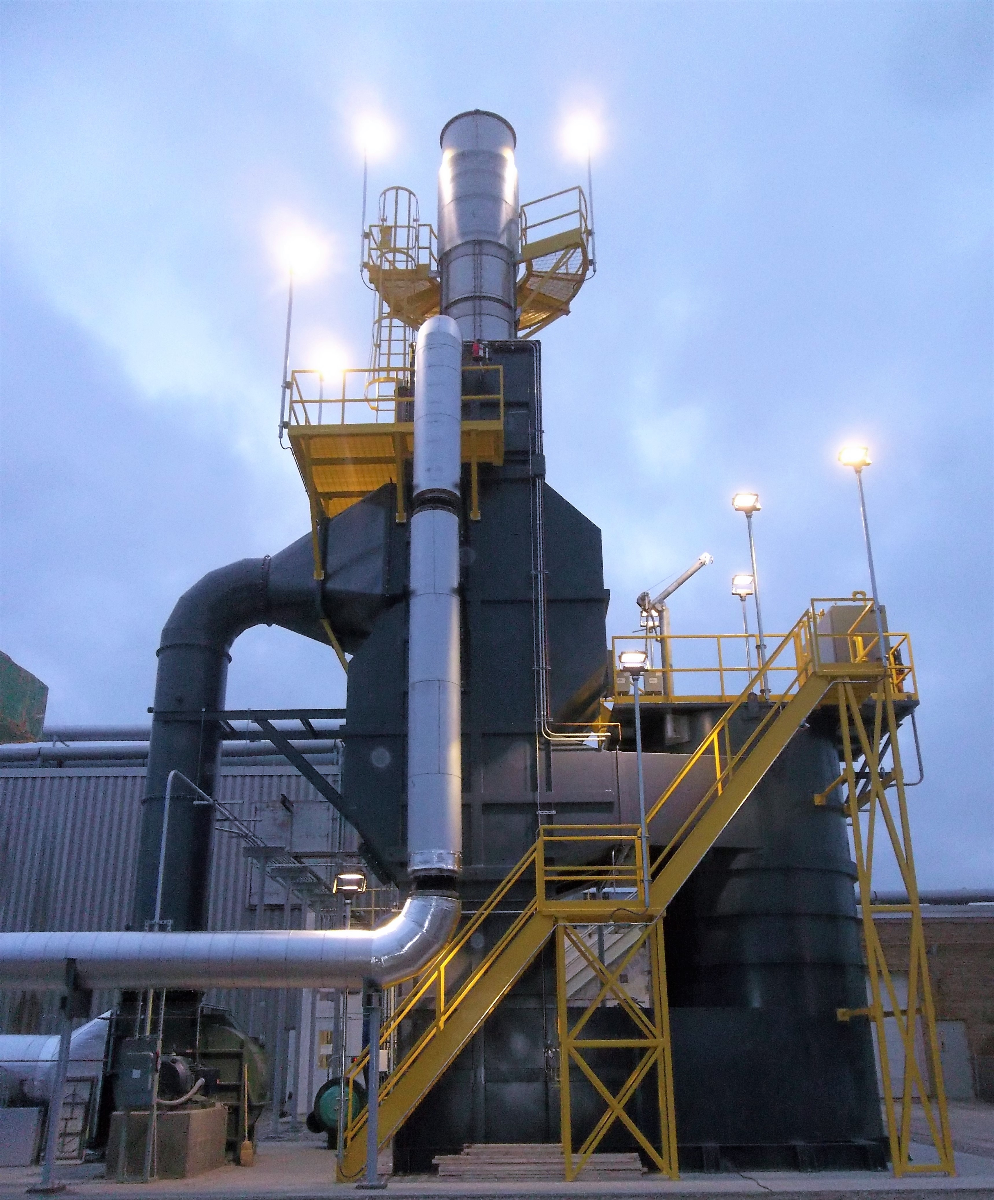 Quadrant SRS-Series Thermal Oxidizer