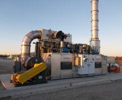 CPI RTO 10.95 - Amine Dehydration Train Natural Gas Treating