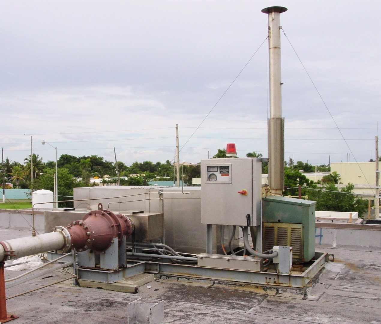CPI Sterilization Catalytic Oxidizer