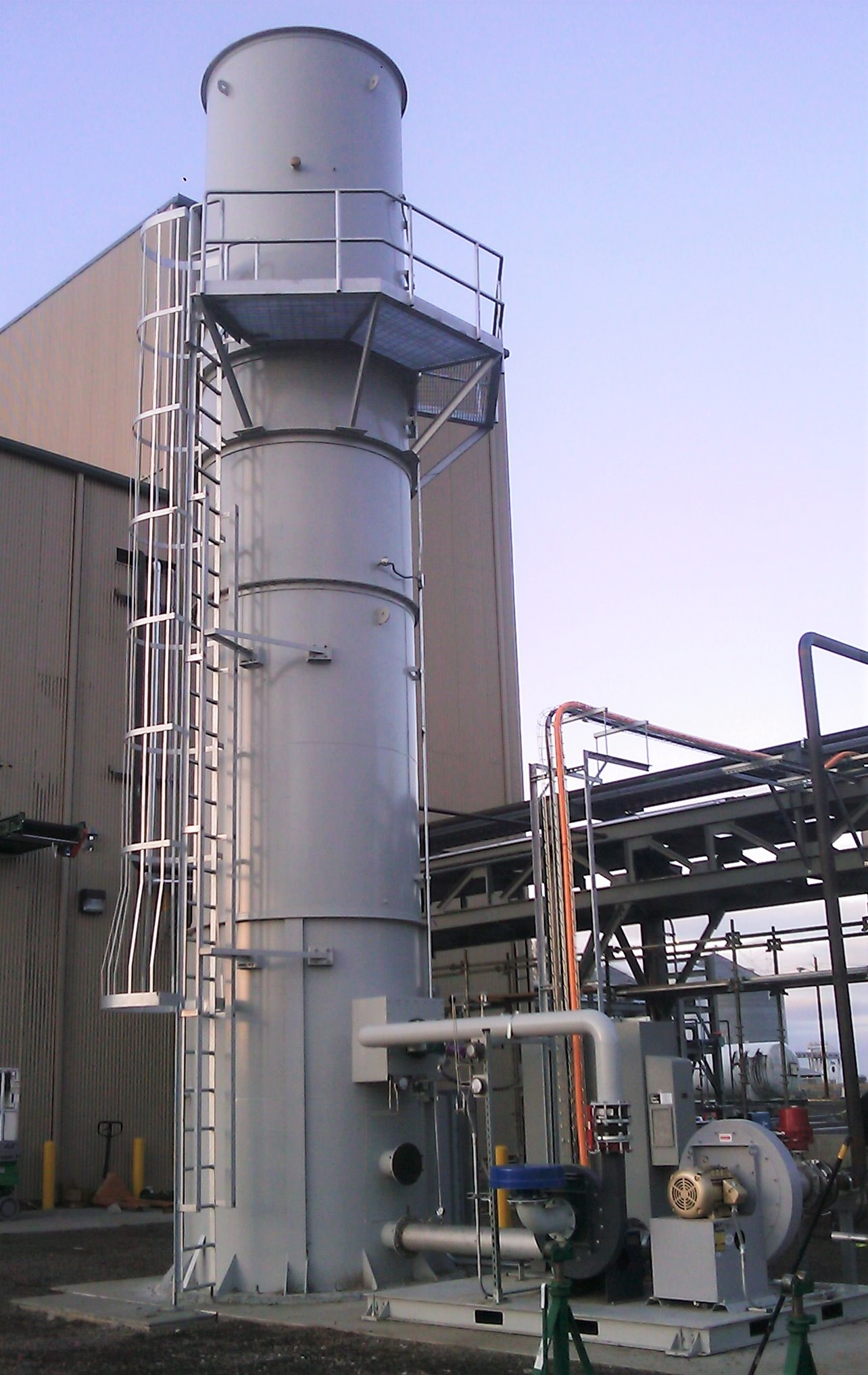 CPI Thermal Combustor System