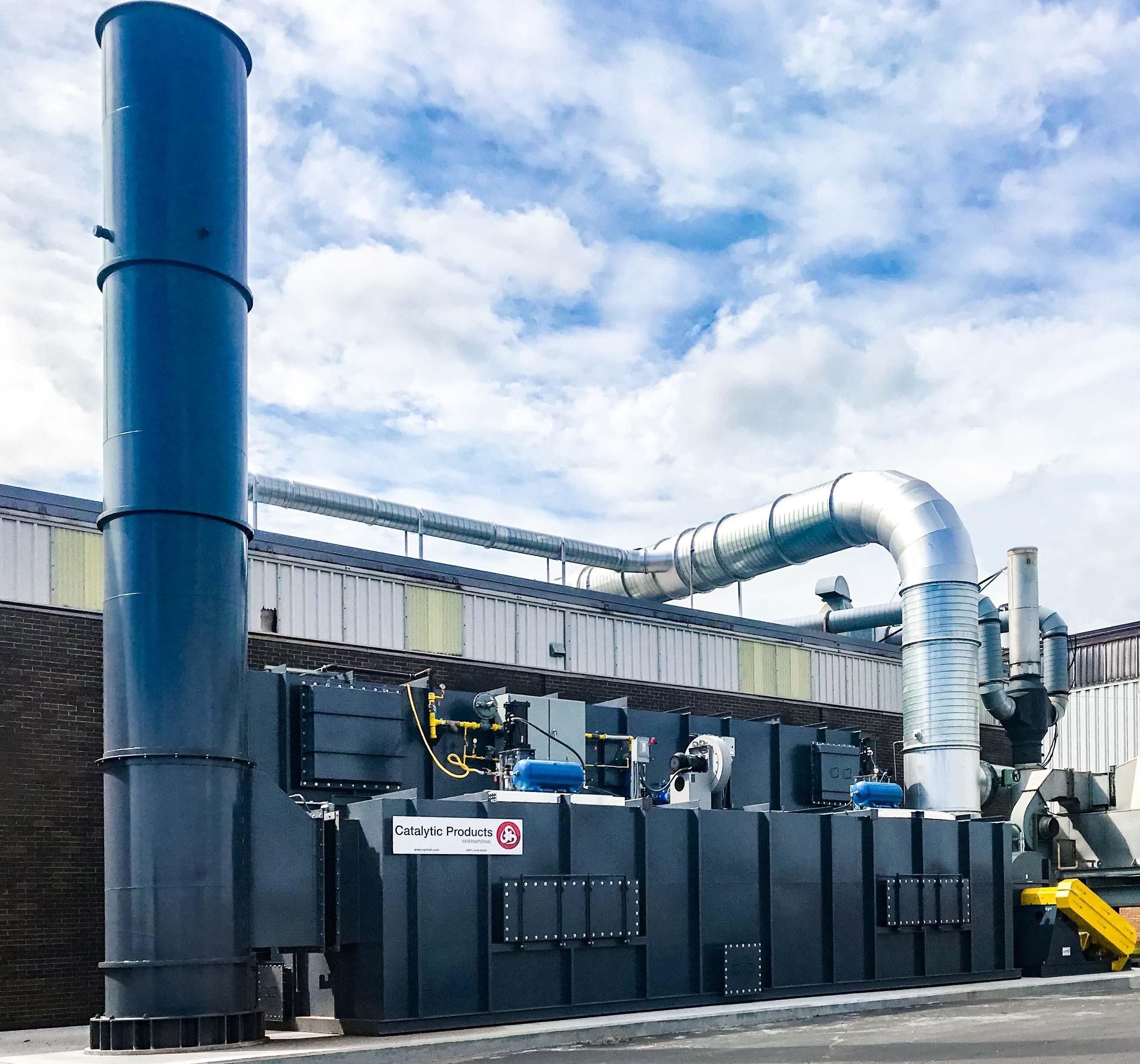 CPI TRITON 35,000 Regenerative Thermal Oxidizer