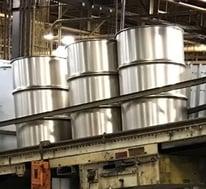 Drums on Conveyor-1