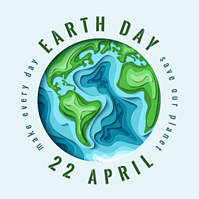 Earth Day April 22 - 300x300