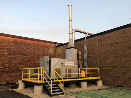 CPI Catalytic Oxidizer 2,000 SCFM Candy Manufacturing