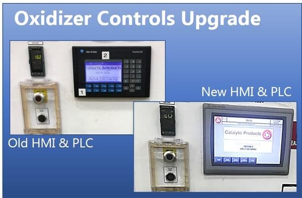 CPI Oxidizer Controls Upgrade HMI and PLC