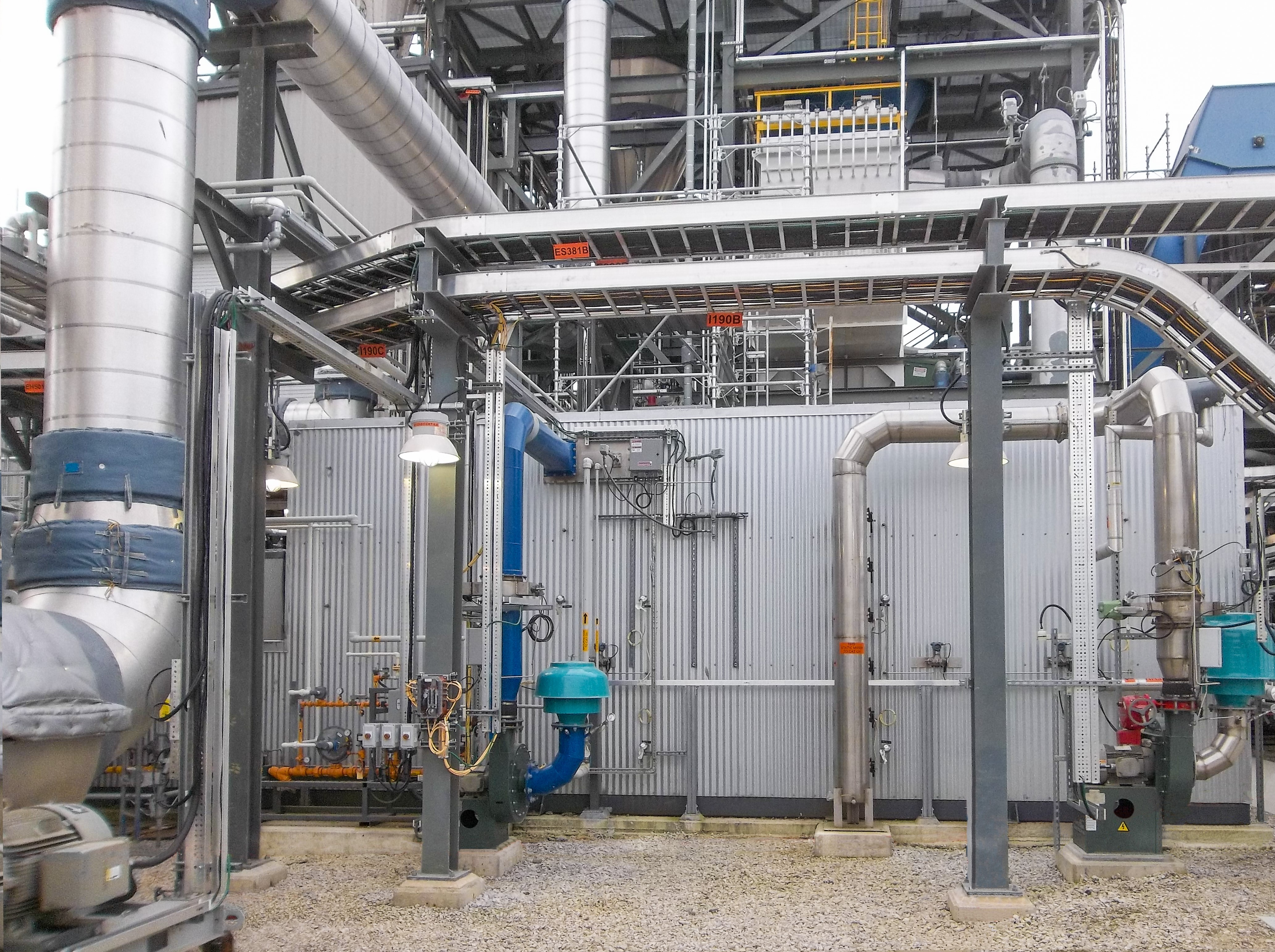 CPI SCR 18,000 Catalytic Oxidizer for Ammonia Removal