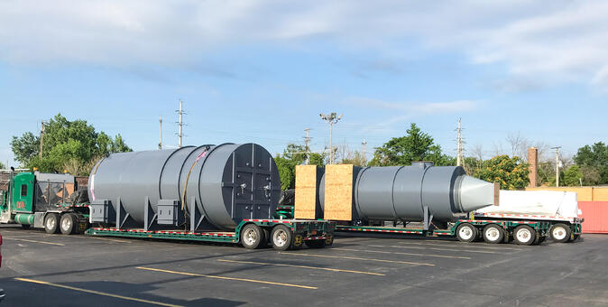 Catalytic Products QUADRANT SR Thermal Oxidizer ready to install