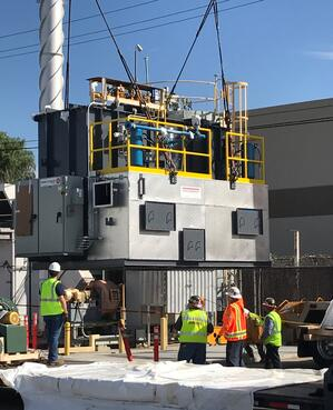 CPI Aerospace Regenerative Thermal Oxidizer Install