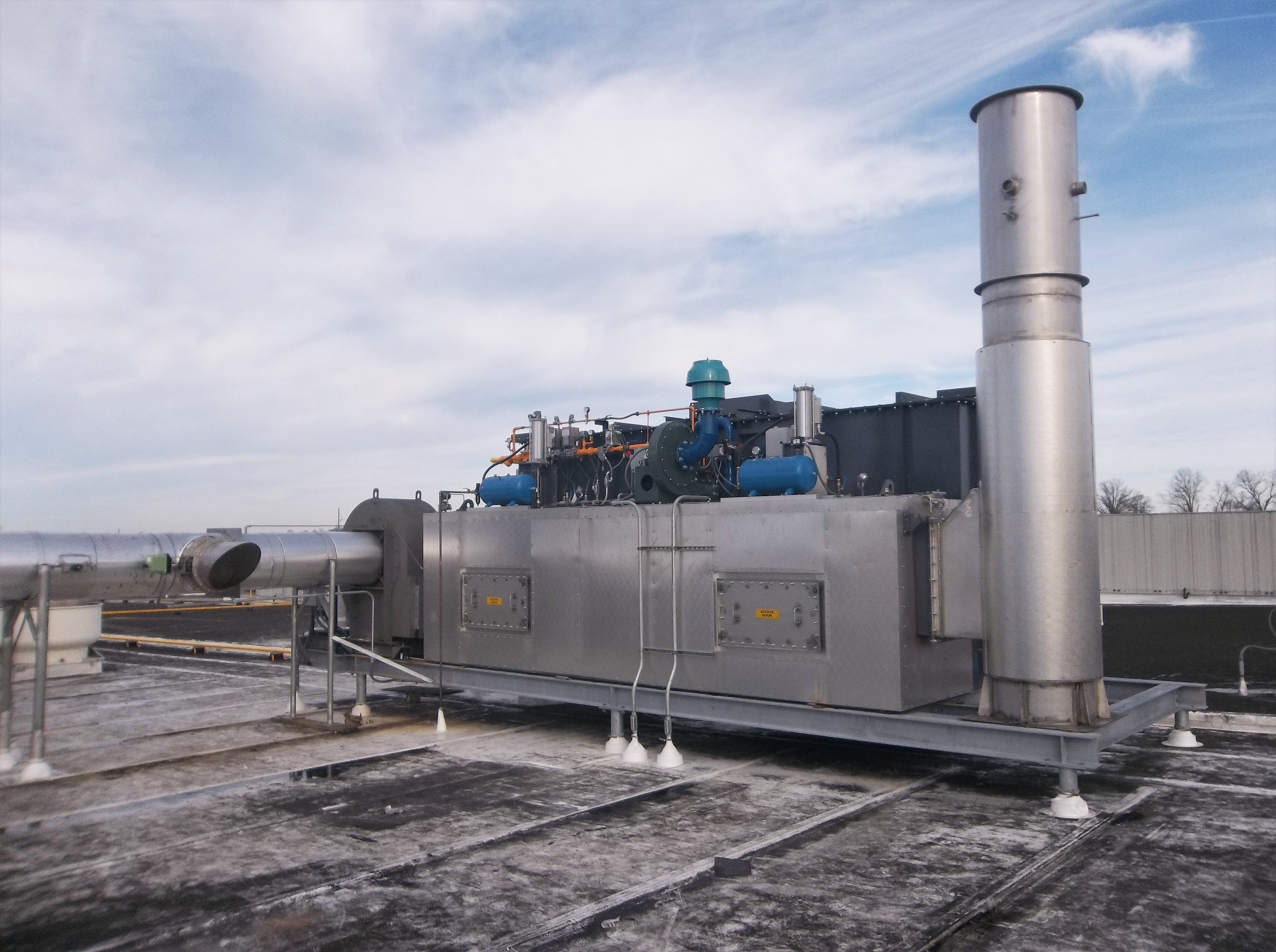 CPI Regenerative Thermal Oxidizer for Bakery