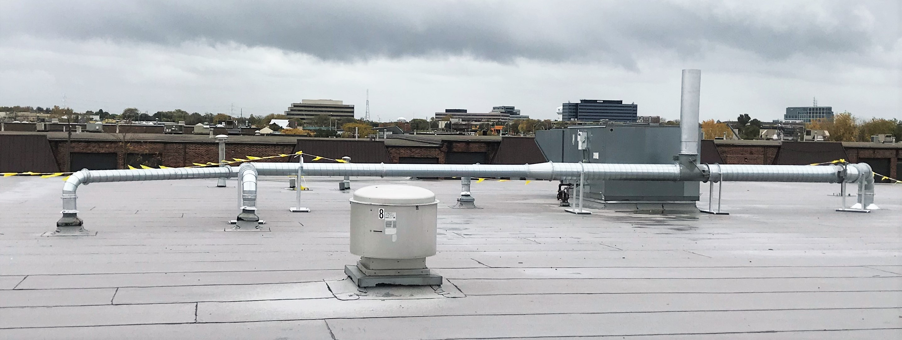 CPI RTO Part Coating Ductwork