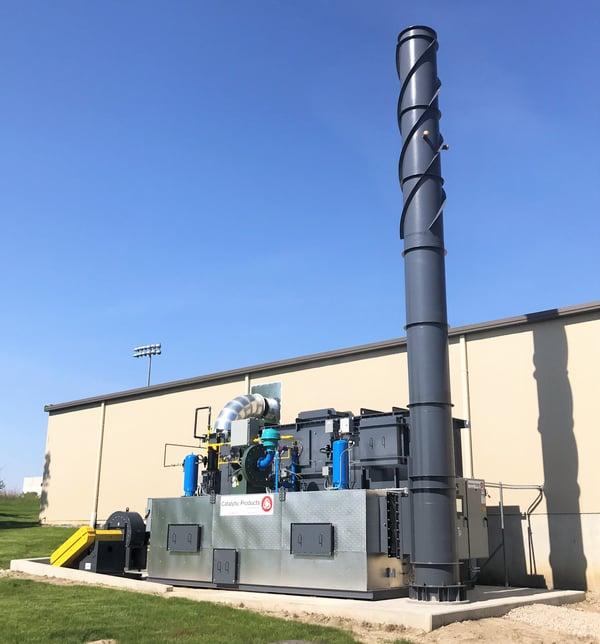 Fastener Coating Regenerative Thermal Oxidizer