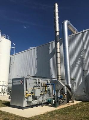CPI Catalytic Oxidizer 6,500 SCFM Bakery