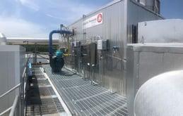 Catalytic Oxidizer 14,000 SCFM Bakery Roof
