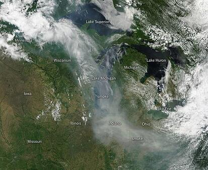 Canadian Wildfires smoke Northern Illinois.jpg