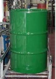 Drum Green Single on Conveyor
