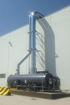 QUADRANT NR Direct Fired Thermal Oxidizer (DFTO)