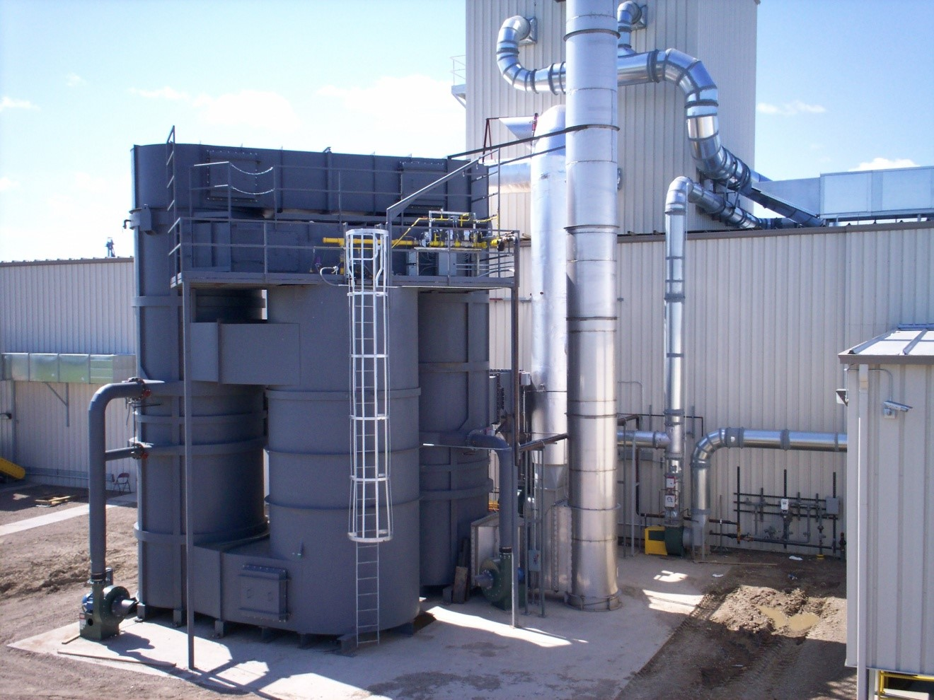 QUADRANT SRS Silicone Series Recuperative Thermal Oxidizer 22,500 with Secondary Heat Recovery