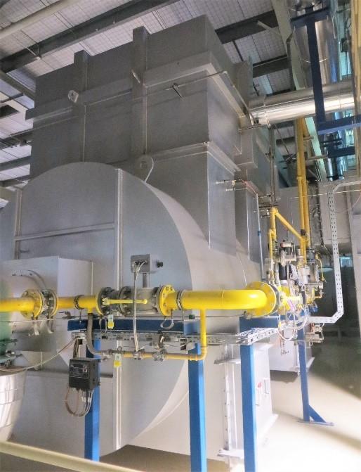 CPI oxidizer used in ceramics manufacturing processes.