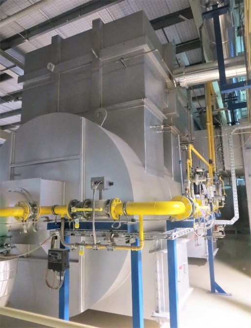 CPI oxidizer used in ceramics manufacturing processes.