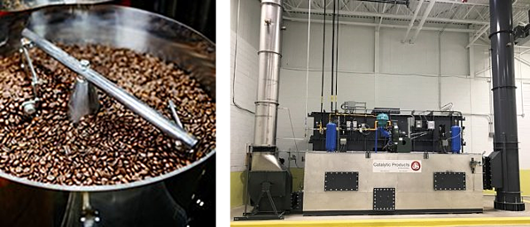 Catalytic Products Oxidizers for Coffee Roasting Emissions