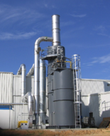 web coating oxidizer