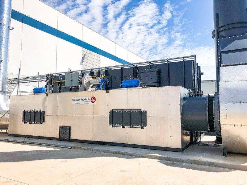 CPI Installs RTO at Metal Decorator for VOC Control