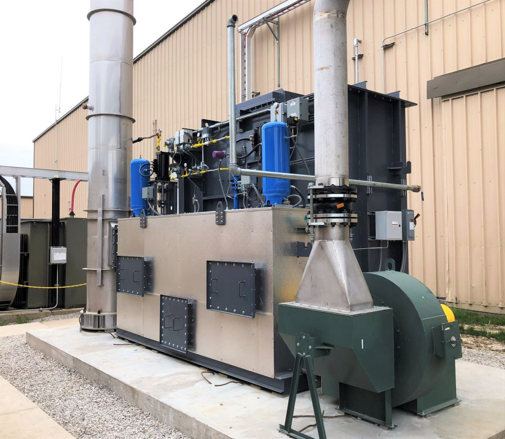 CPI Installs RTO at Resin & Surface Coating Manufacturer