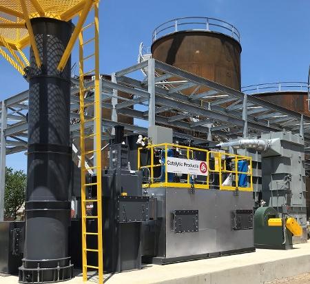 CPI Installs RTO at Asphalt Processor for Tank Venting