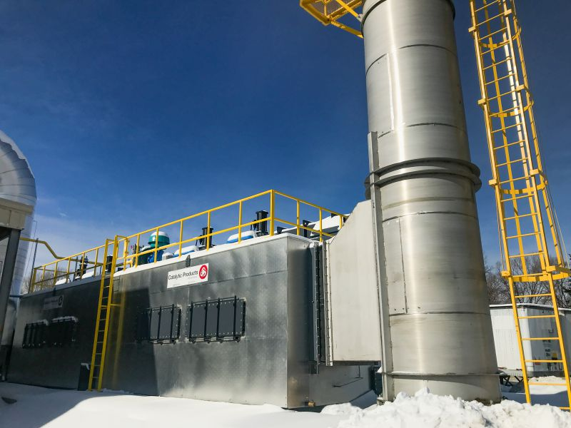 CPI Installs RTO at Steel Drum Reconditioning & Painting Facility for VOC Control