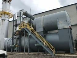 CPI Rebuilds Recuperative Thermal Oxidizer at Metal Coil Coater