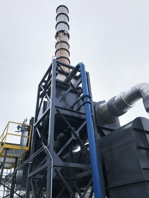 CPI Installs Thermal Oxidizer at Fuel Cell Manufacturer