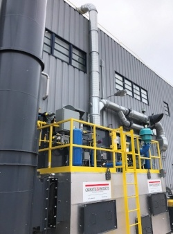 CPI Installs RTO at Paint and Performance Coatings Mfg for VOC Control